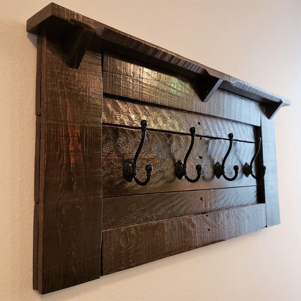 Custom Made Coat Rack For Sale In San Diego Ca Offerup Wooden Pallet Projects Pallet Diy Diy Pallet Projects