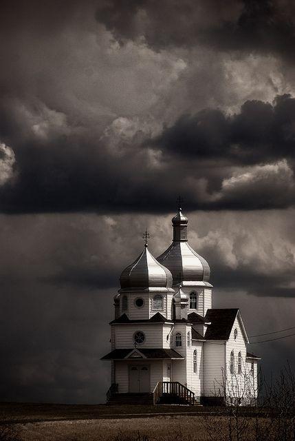 Ukrainian Church, Star, Alberta. Canada.