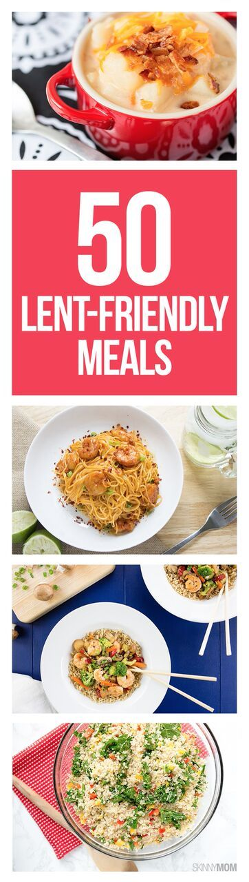 Great healthy recipes for lent!