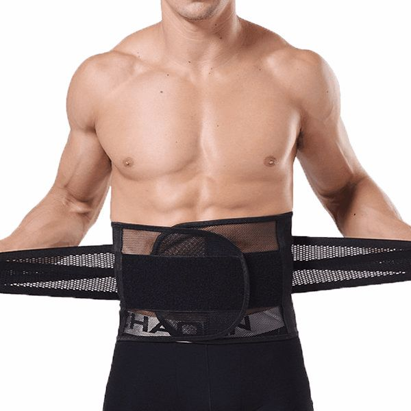 Ab Curl Girdling Body Sculpting Thin Breathable Fit Fat Lose Waistband for Men US$ 13.37 Features: Body Building:Give You Perfect Shape! Ab Curling, Girdling! Breathable, Thin!   Item Type: Underwear      Material: 75%Nylon+25%Spandex Decoration: Solid Color Waist Type: High Waist Season: Spring, Summer, Autumn, Winter Color: Black, khaki Occasion: Casual, Home US Size: S, M, L, XL, 2XL
