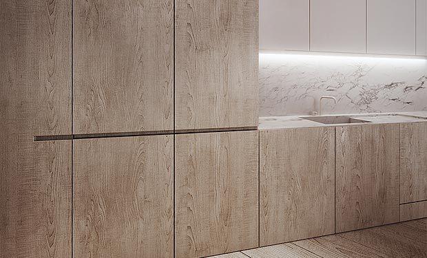 tamizo architects wood kitchen