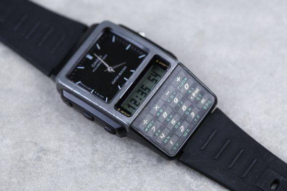 Vintage Casio Databank Calculator Digital Watch Abc 30 All Functions