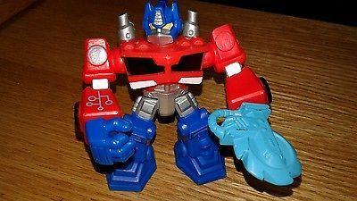 Hasbro Optimus Prime  Transformers Action Figure #A2108 C-015D