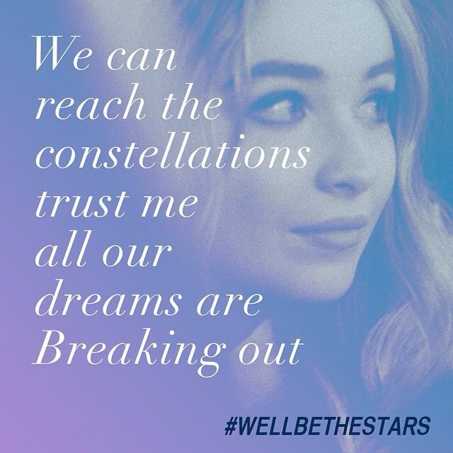 We'll be the stars