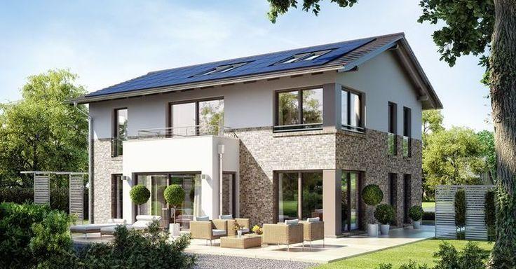 WOHNIDEE-Häuser: Edition 425 WOHNIDEE-Haus - Garten | Hausfassade ...