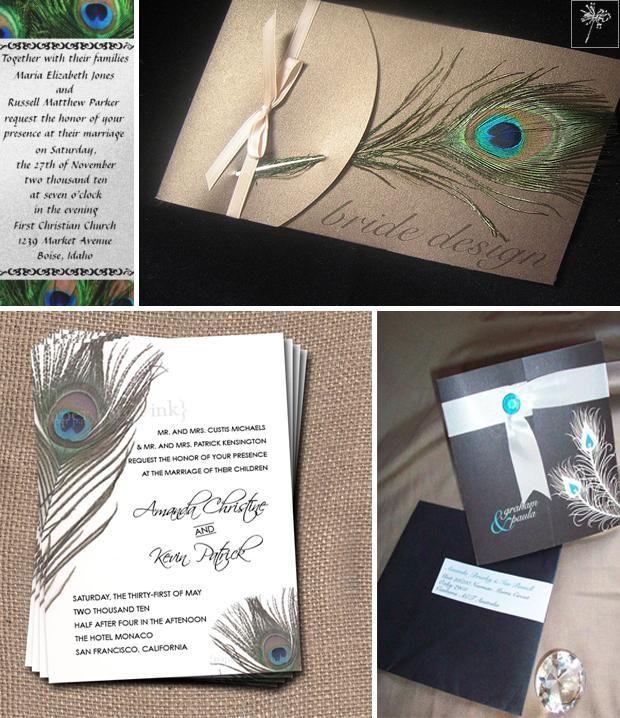 Ślub z motywem pawiego pióra   Białe Inspiracje - blog ślubny