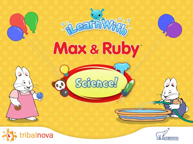 Max & Ruby - Science Educational Games. These fun science learning games have been designed with educational experts for kids 3, 4, 5 and 6 years old and either in Preschool, Kindergarten, Pre-K, 1st grade of Primary school, or Homeschool to learn basic physical science skills.