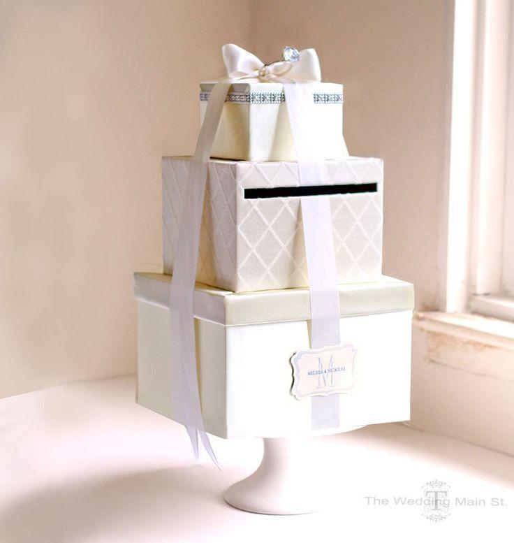 Best 25 Diy wedding card box ideas on Pinterest