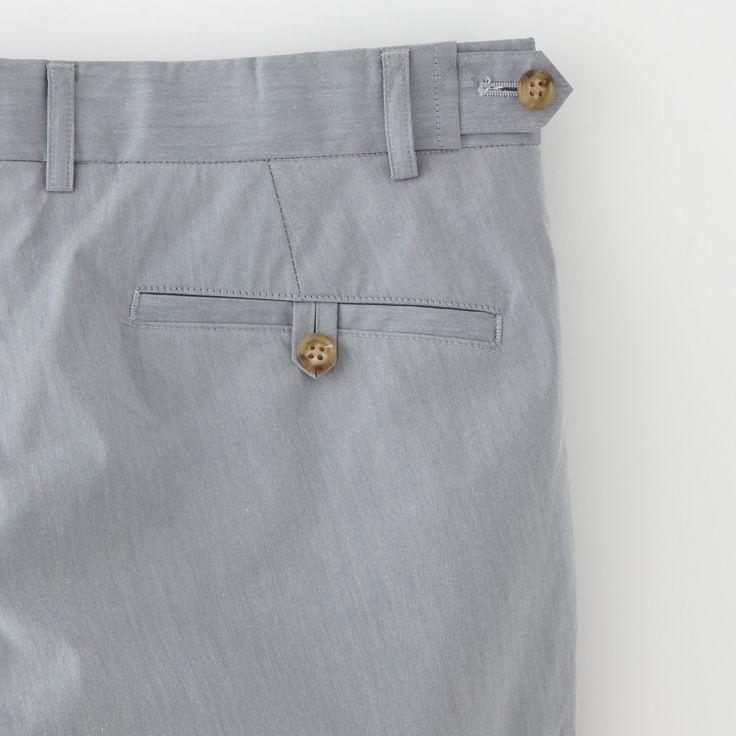 Slim Cuffed Trousers   Men's Suiting   Steven Alan