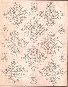 Kolam designs, Indian floor art