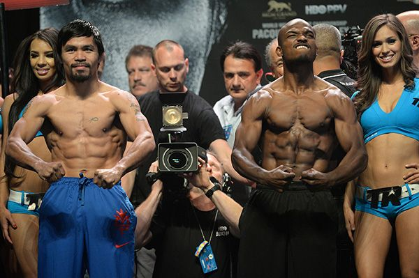 jack nicholson manny pacquiao bradley | Manny Pacquiao-Timothy Bradley rematch draws top fighters, celebrities ...