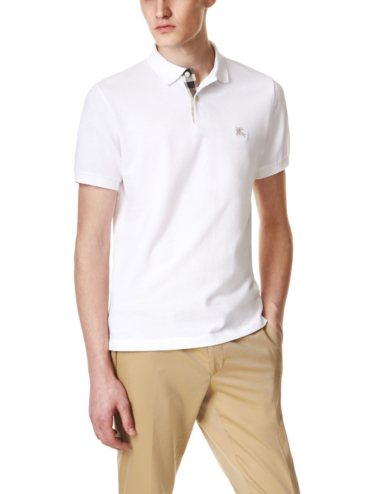 Check Placket Polo by Burberry Brit on Park & Bond