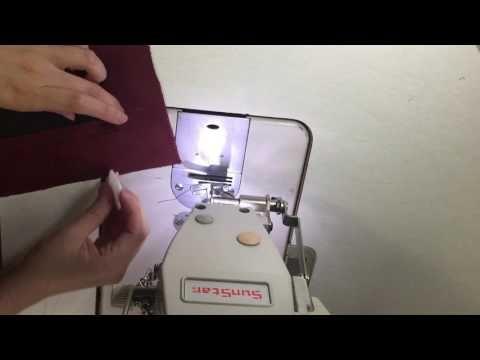 [기초봉제연습]입술주머니만들기 - YouTube