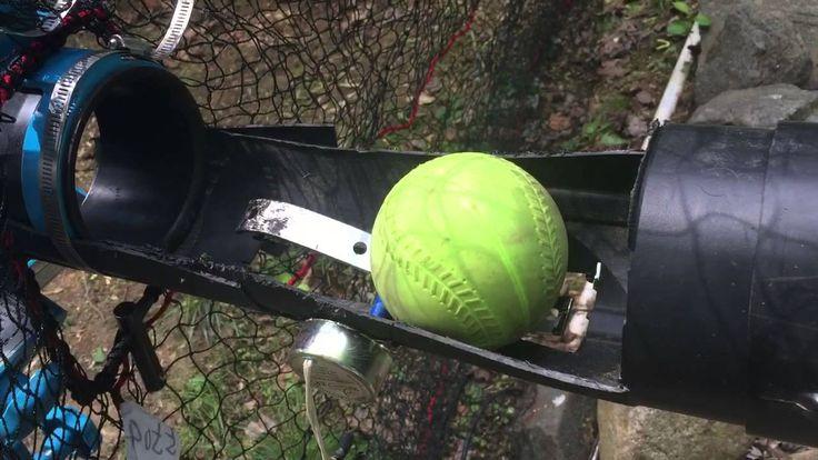 Homemade pitching machine auto feeder Sports Pinterest