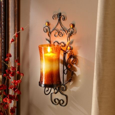 Wall Sconces At Kirklands : 78 Best images about Wall Decor on Pinterest Mediterranean living rooms, Iron wall and Wall decor