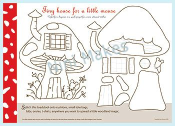 Mouse House pattern by ninimakes, via Flickr