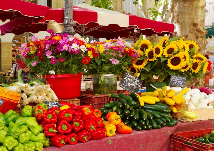 Provence Farmers Market, France puzzle in Fruits & Veggies jigsaw puzzles on TheJigsawPuzzles.com. Play full screen, enjoy Puzzle of the Day and thousands more.