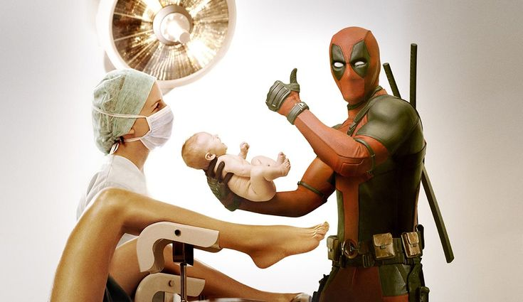 Ryan Reynolds tweets Deadpool pic on Mother's Day.