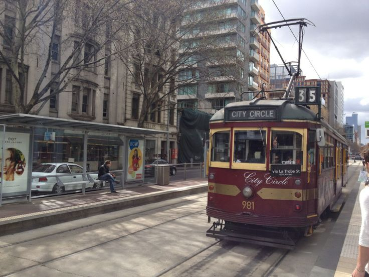 City Circle Tram #Melbourne