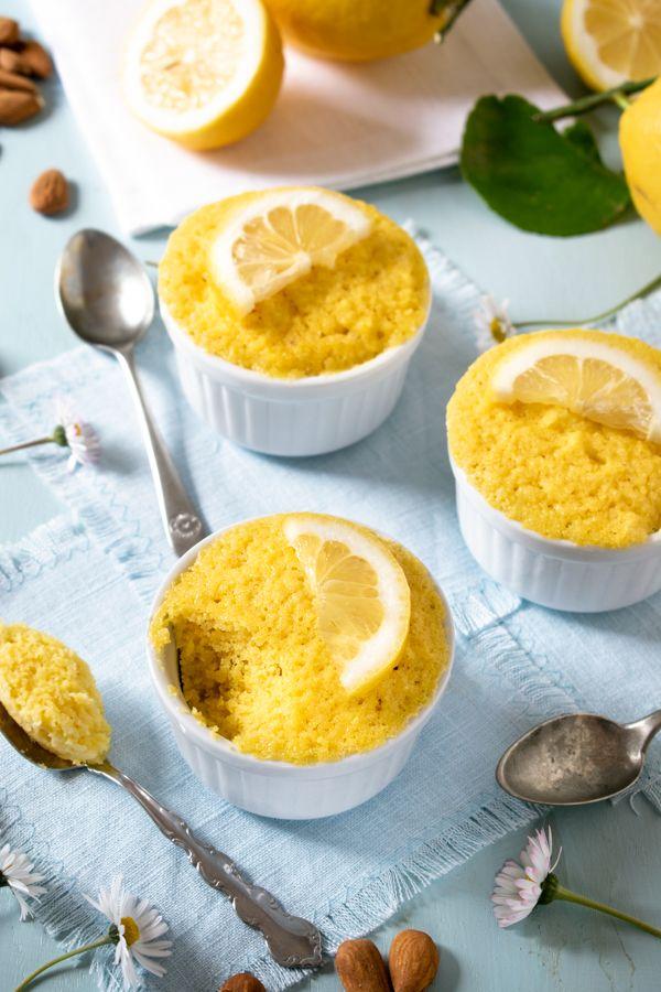 Keto Easy Lemon Mug Cake Recipe So Nourished Recipe Low Carb Mug Cakes Mug Cake Lemon Mug Cake