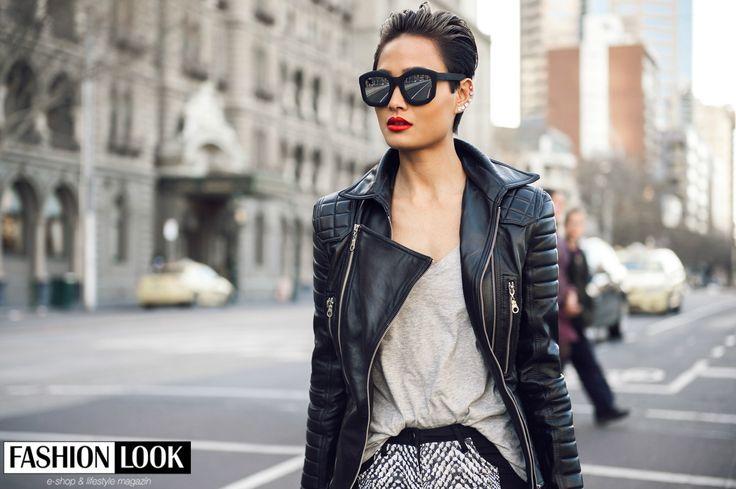 Čo hovoríte na tento look? HOT or NOT? :)   #shorthairstyle  #sunglasses #black