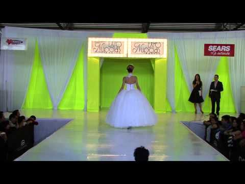 Expo Nupcias pasarela vestidos de novia Jose Luis Ortega - YouTube