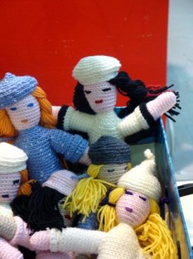 bamboline ad uncinetto
