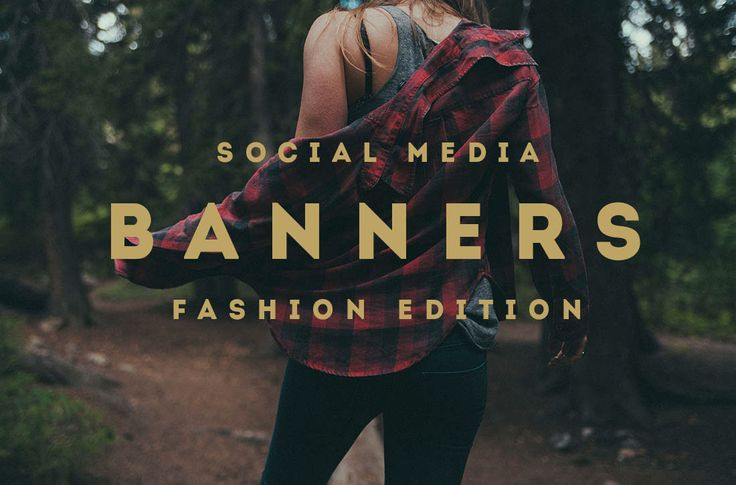 """다음 @Behance 프로젝트 확인: """"Stylish Fashion Social Media Banners"""" https://www.behance.net/gallery/35213545/Stylish-Fashion-Social-Media-Banners"""
