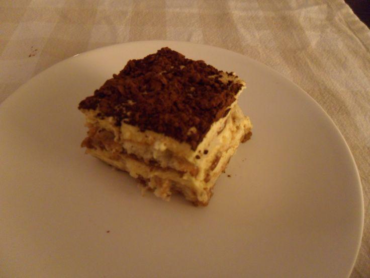 TIRAMISÚ Receta sin azucar de este delicioso postre italiano.... http://sensesucre.wordpress.com/2013/05/21/tiramisu/ 