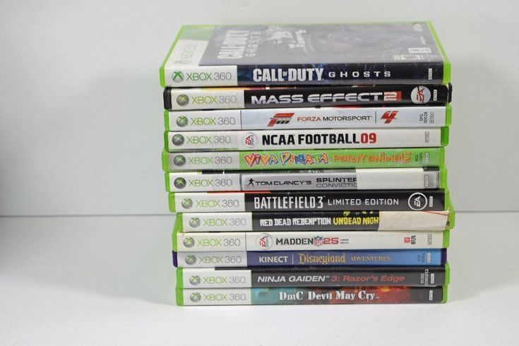 Lot of 12 XBOX 360 Games Call of Duty Mass Effect Battlefield + More