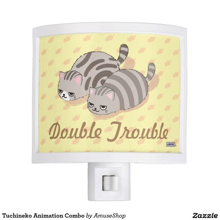 Tuchineko Animation Combo Night Lite cat, home decor, decoración#lámpara #lamps