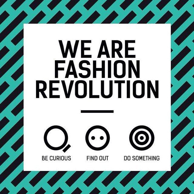 �Celebra Fashion Revolution Day!