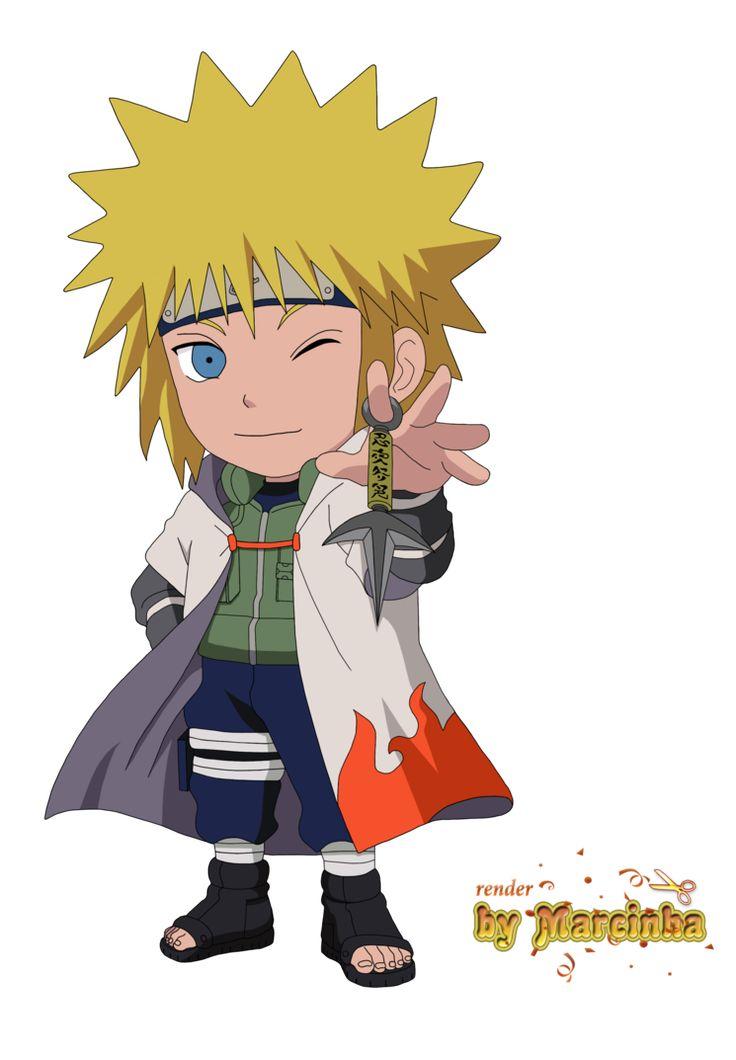 Chibi Naruto Characters Drawing