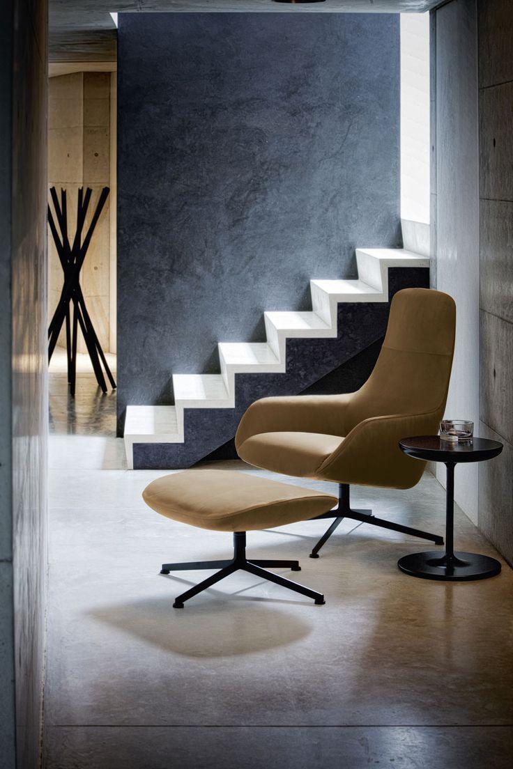 KENT #loungechair  designed for #Zanotta / #Palomba #design