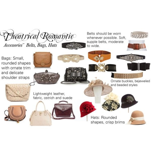 """Theatrical Romantic Accessories: Bags, Belts, Hats"" by trueautumn on Polyvore"