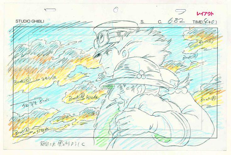 Pour Hayao Miyazaki: «L'animation est une illusion et le public est curieux de voir comment elle va l'éblouir».Photo:Le château ambulant,2004