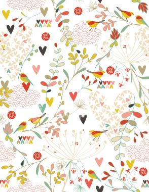 Spring Kimono Royalty Free Stock Vector Art Illustration
