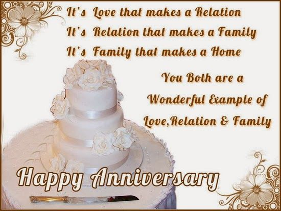 Saying Images wishes you a Happy Anniversary! This page share the best anniversary quotation, messages, wishes and poems with pictures. Hope you have a joyful and sweet anniversary with your love! Anniversary Quotes There is no more lovely, friendly and charming relationship, communion or company than a good marriage. – Martin Luther A wedding anniversary …