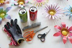 DIY Soda Can Flowers