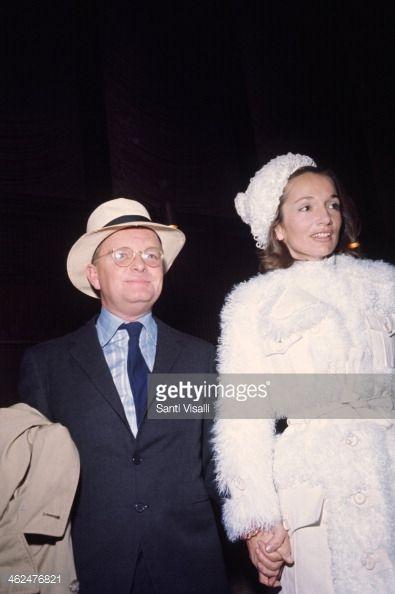 Lee Radziwill and Truman Capote. June 6, 1969.