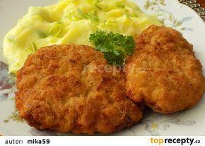 Řízky z mletého masa, sýru a mrkve recept - TopRecepty.cz