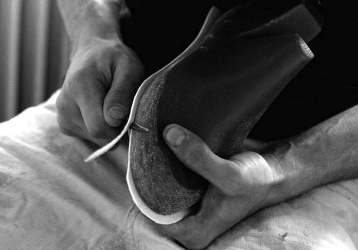 슬립온 브랜드 추천 천연 소가죽 남성 남자 가죽 수제화 신발 스니커즈 스터드 찡 E.stud slip-on : 디자이너 제이백