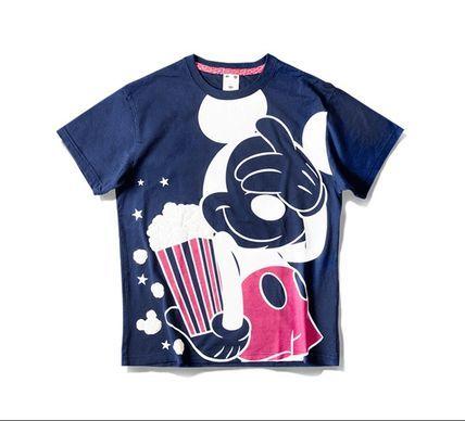 TDS限定 X-girl Tシャツ ミッキー ダイナミック ポップコーン