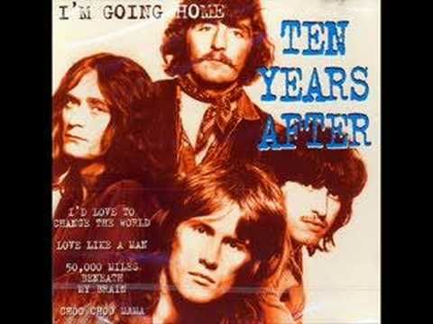 Ten Years After - Love Like a Man - You rolypoly All over town  lol  good old tune not played too often