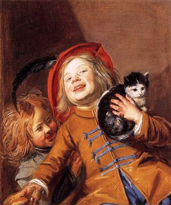 Judith Leyster, Two children with a cat, 1630
