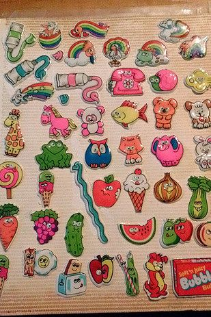And immediately putting your new sticker in your sticker book (if you didn't trade it): | 38 Things That Will Take '80s Kids Back To Their Elementary School Days