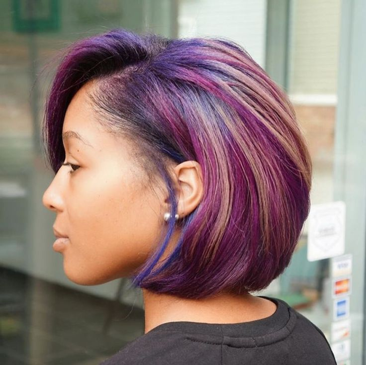 Hairstyles For Short Relaxed Hair Photos Dohoaso