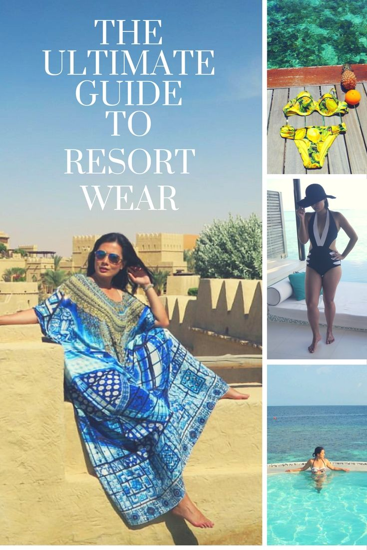 The Ultimate Guide to Resort Wear : Lazy Girls Edition! From the Maldives to the Middle East. Your must-have's for resort and luxury wear.