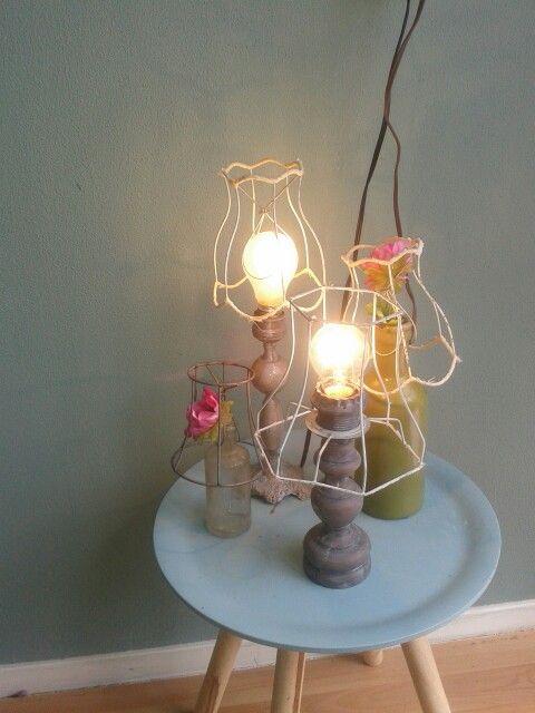 Afgedankte lampjes worden leuke hippe objecten