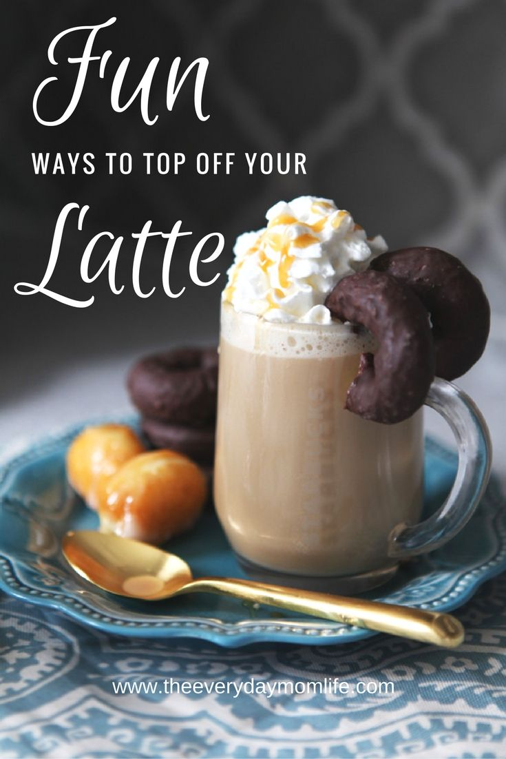Check out these fun ways to top off your morning latte right in your own home with Starbucks and Keurig. ad